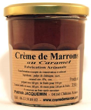 crème de marrons au caramel