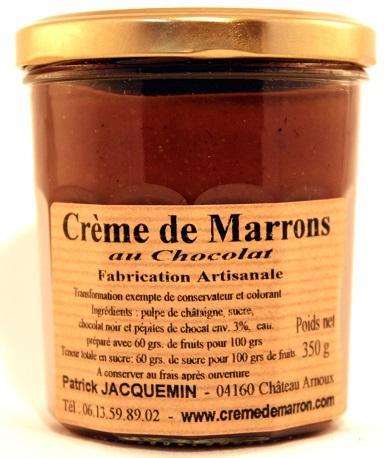 creme de marron au chocolat
